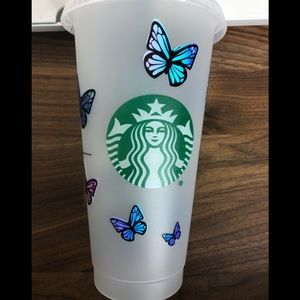Butterfly Reusable Starbucks Cup